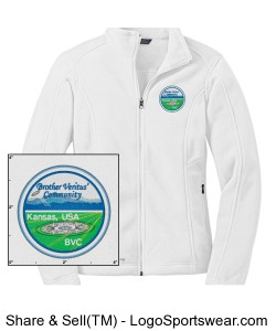 Eddie Bauer Ladies Full-Zip Fleece Jacket Design Zoom